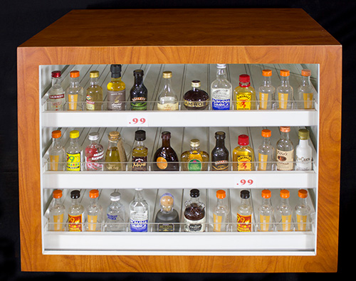 Retail Wine Display Liquor Store Shelving Wine Display