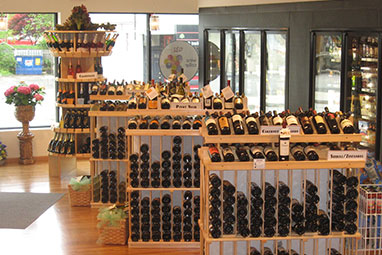 Boutique Style Wine Store Design